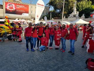 CRI in People - Anche i Volontari del Comitato Municipio 9 all'evento in Piazza del Popolo