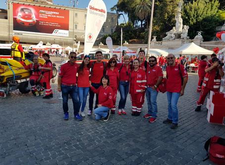 CRI in People - Anche i nostri volontari all'evento in Piazza del Popolo