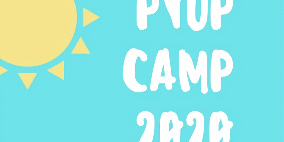 PYOP Summer Camp 2020 Session 2 Sports Fanatic                    Ages 6+