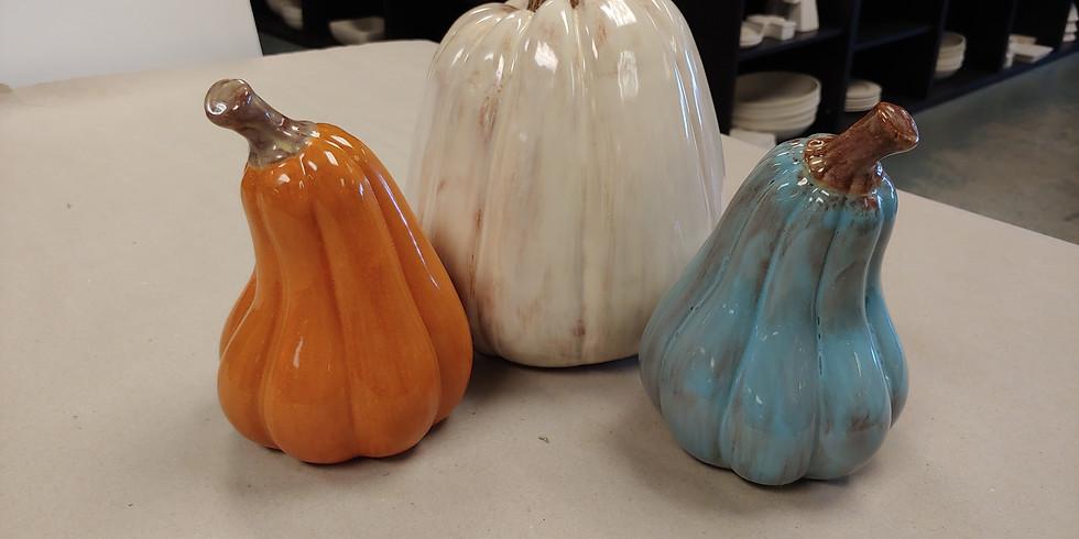 Pair of Pumpkins Painting Class 2021