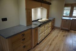 Polished concrete worktops in Shere, Guildford