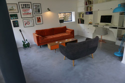 Polished concrete floor in Lewes East Sussex