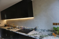 Polished Concrete Walls in London SE
