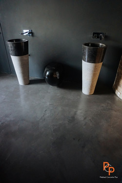 Polished concrete floor in Folkestone