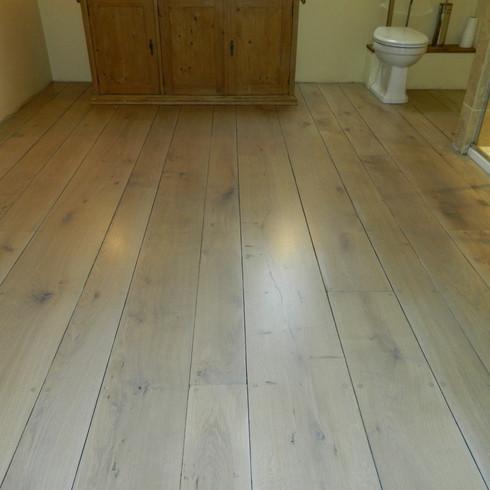 Wood floor sanding in Brighton