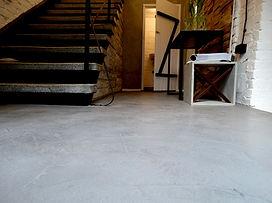 Creativo micro-concrete floor