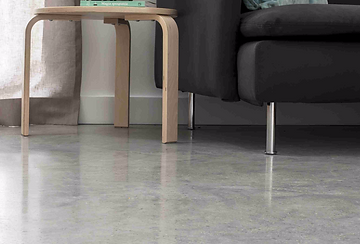 Polished concrete floors in Brighton