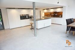 Polished concrete floor in Brighton