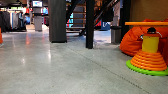 Polished concrete floors in London