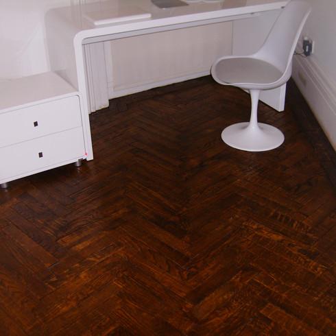 Parquet floor in Brighton