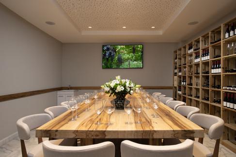 חדר יין במלון אדמונד ראש פינה