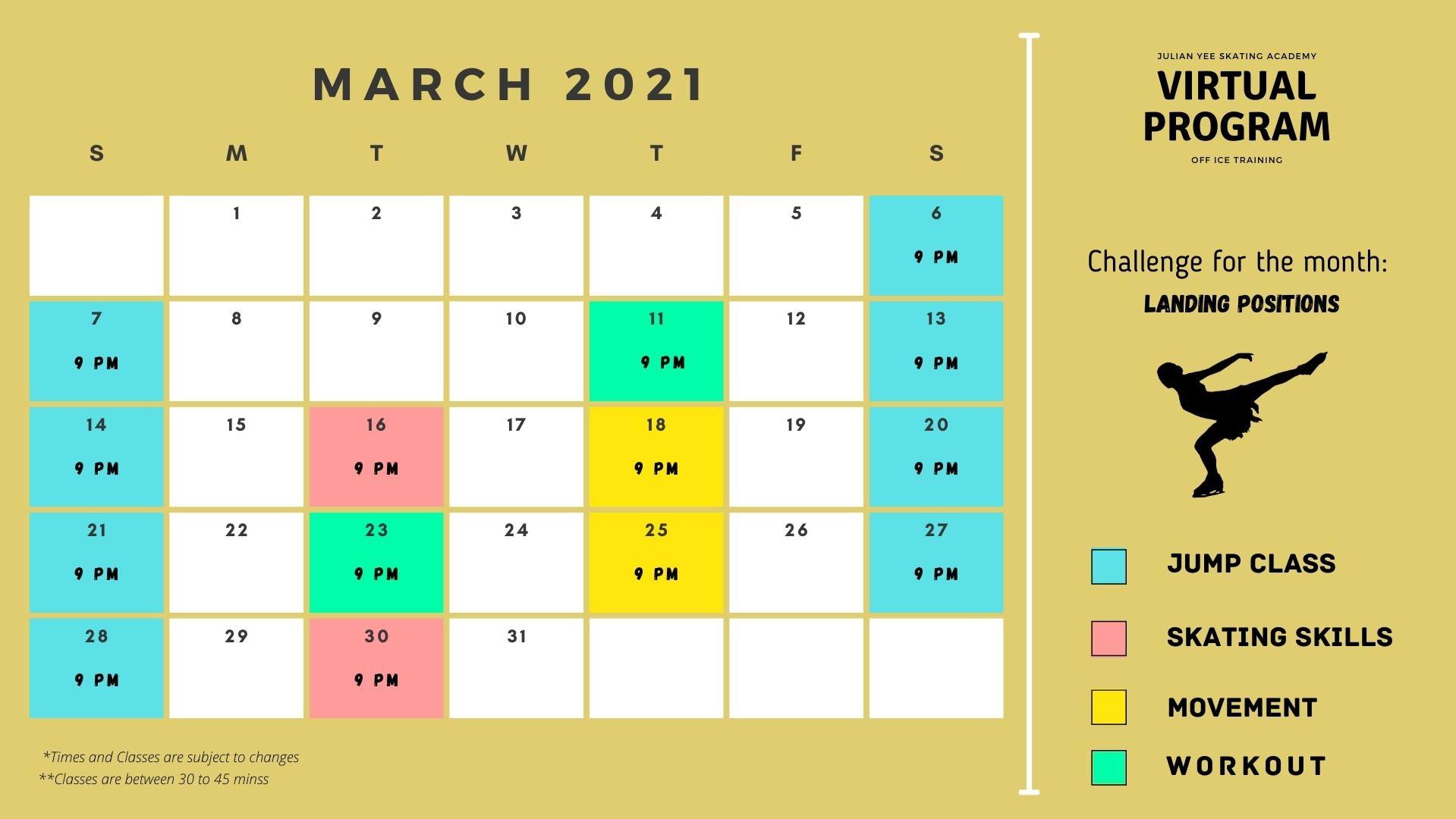 March 2021 Schedule (Virtual Program).jp