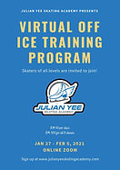 Virtual Off Ice Training Program Poster.