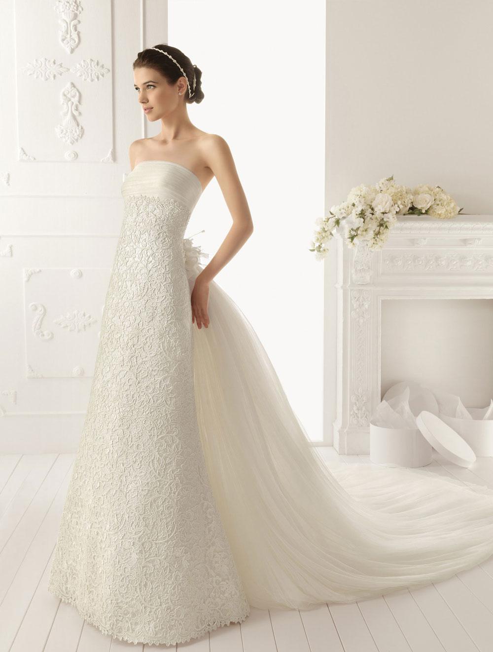 Vestidos de novia modernos con pedreria cortos