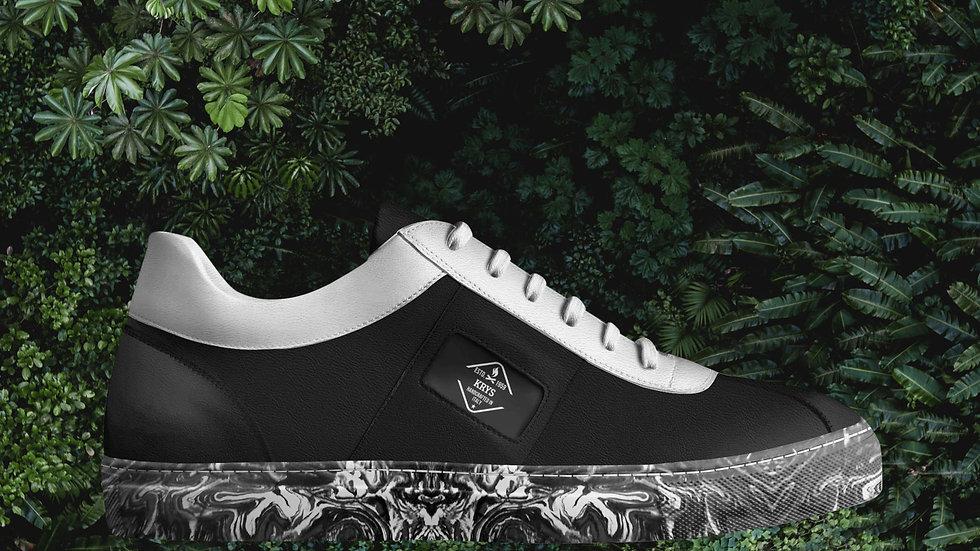 Black & White Low Sneaker