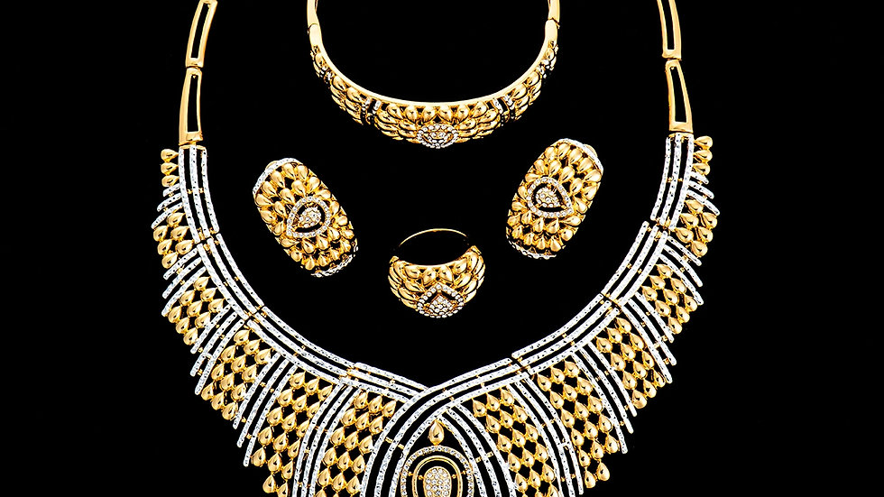Lady of Pharaoh Four Piece Set