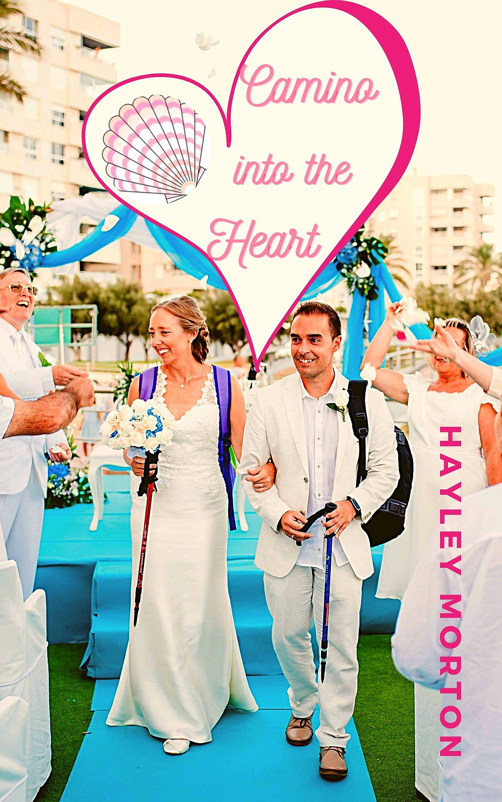 Camino de Santiago themed wedding photo and story
