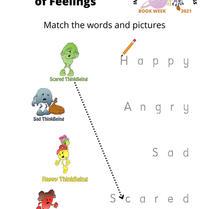 6. Book Week 2021: (R-2) World of Feelings Activity