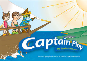 Captain Plop: the desalination adventure
