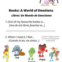 5. Book Week 2021: (Yr3-5) World of Emotions in Books