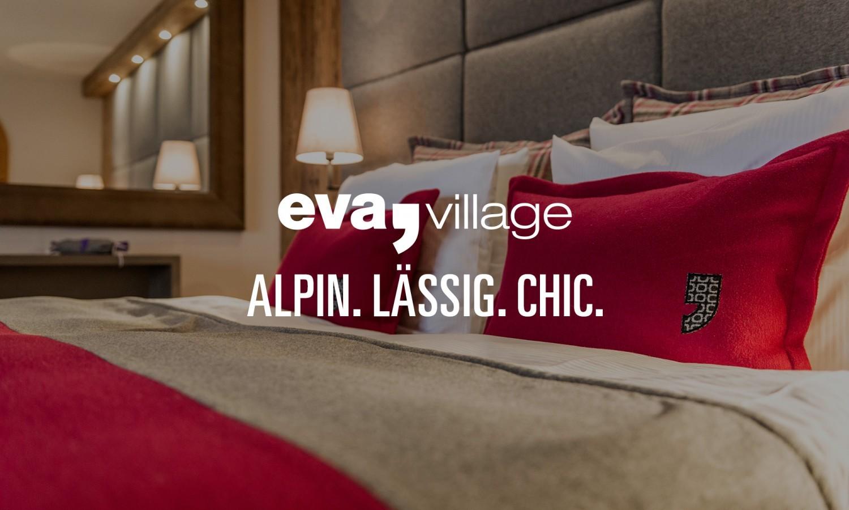 eva,village, Saalbach