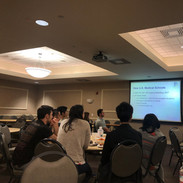 Grad students learning about choosing a medical field that is right for them