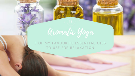 3 Essentail oils for relaxation