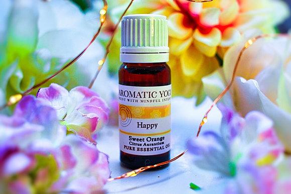 Happy Sweet Orange Essential Oil 10ml