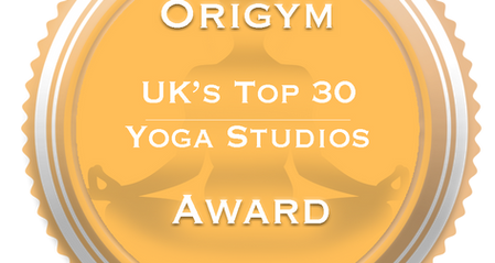 Nominated and selected as one of the top 30 best yoga studios in the UK