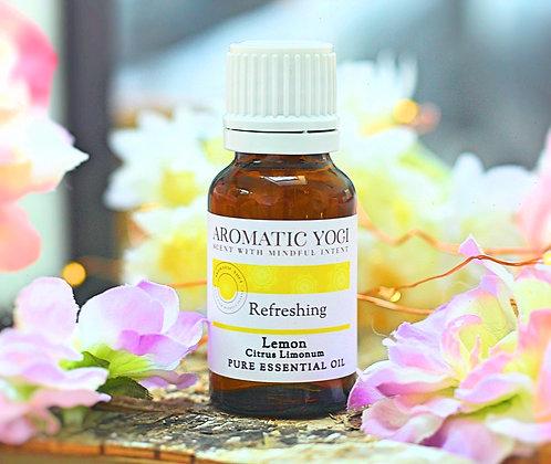 Refreshing Lemon Essential Oil 15ml