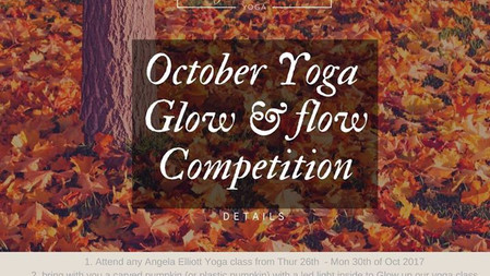 October Yoga Glow & Flow Competition