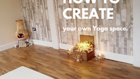 How to create your own home yoga space