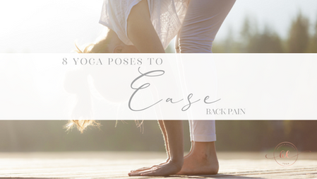 8 Yoga postures to ease Back pain
