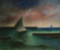 Carlo_Carrà,_Marina_grande,_1942,_olio_s