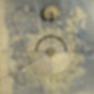 SOLARE, 2001, tecnica mista su tavola, 99x99 cm