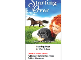 Starting Over featured on this week's Top Shelf Magazine