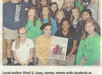 Author Visit at Langston - Greenville, SC