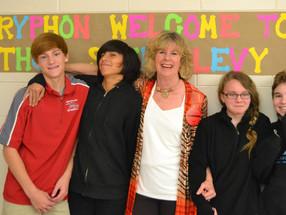 Sheri Visits Beaufort Middle School