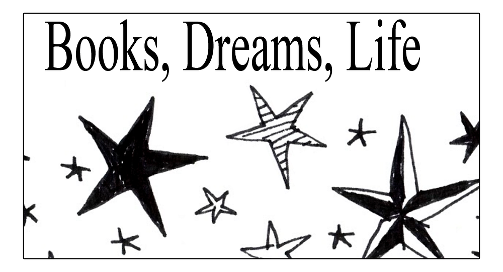 Books Dreams Life logo clip