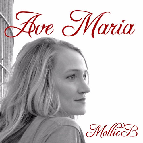 Ave Maria CD by Mollie B (2015)