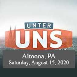 TICKET: Sat., August 14, 2021 3-7pm Dance, Altoona, PA.  (WILL CALL)