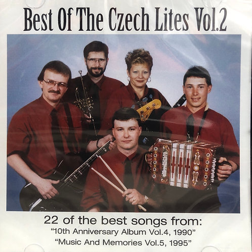 "CD: The Czech Lites: ""Best of the Czech Lites, Vol 2"""