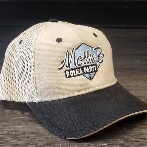 Vented cap - Mollie B Polka Party