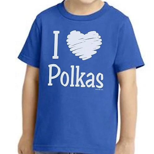 "Shirt: Made-To-Order ""I love Polkas"""
