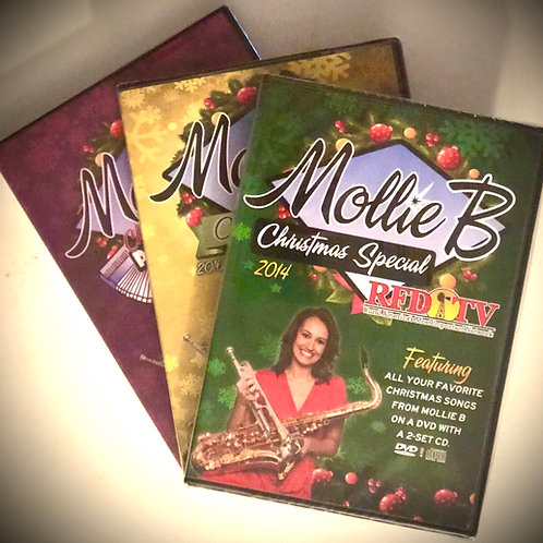Special: 3 Christmas DVD/CD packs
