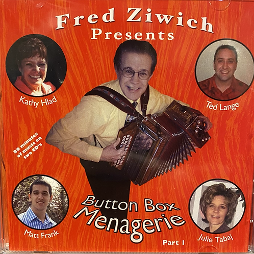 CD: Fred Ziwich, Ted Lange: Button Box Menagerie Part 1