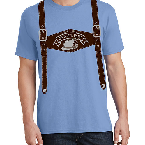 Jim Busta Band Lederhosen Shirt