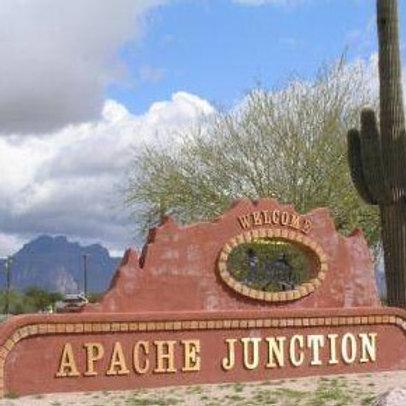 TICKET: Apache Junction, AZ.  Friday Feb. 18, 2022
