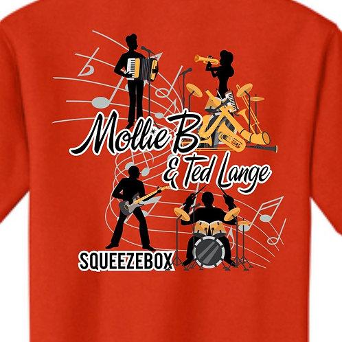Shirt (youth): SQUEEZEBOX orange shirt
