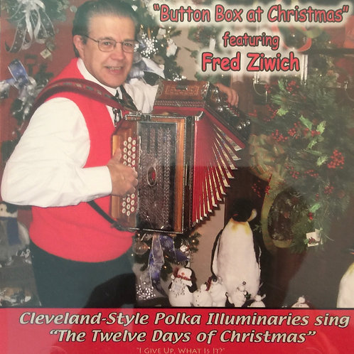 CD: Fred Ziwich: Button Box at Christmas